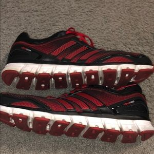 Adidas climacool shoes size 13 red black